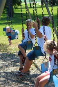 community park swings