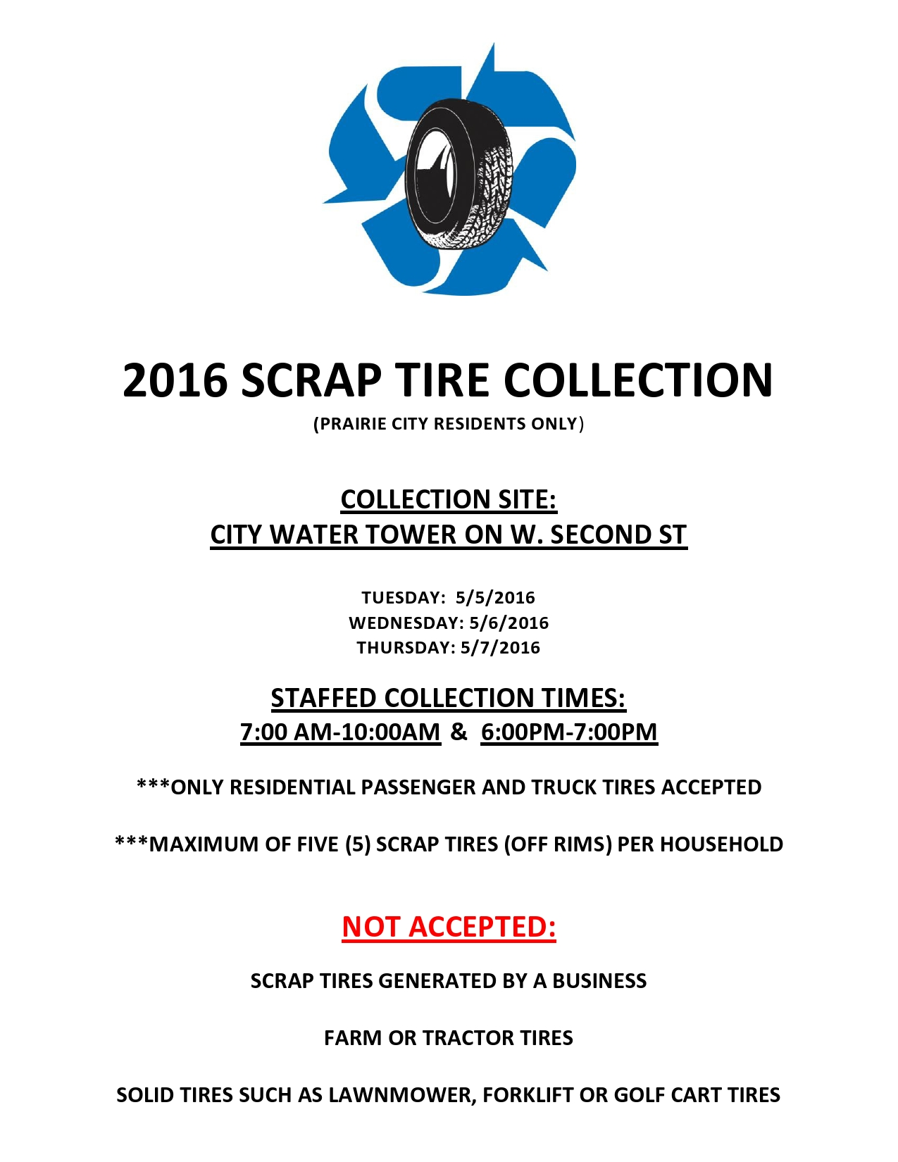 Scrap Tire Collection