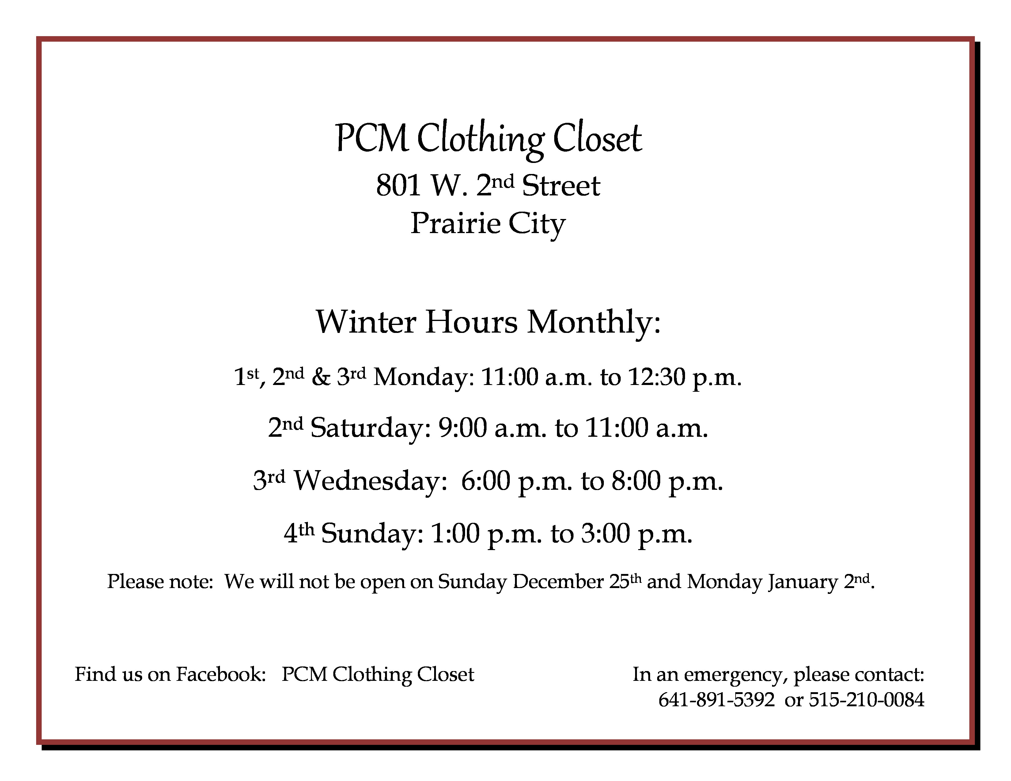 pcm-clothing-closet-winter-hours-page-0